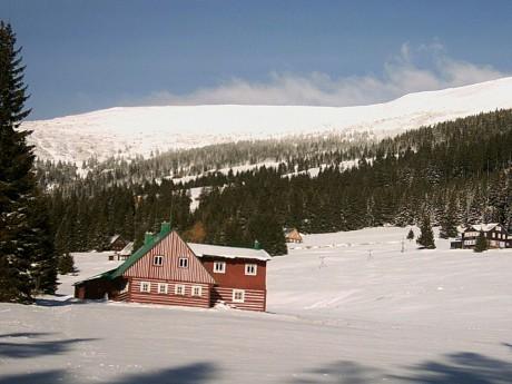 ... ... - Fotoalbum - Krkonoše - Když napadne sníh - Modrý důl